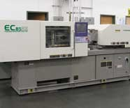 Electric press at Diversified Plastics