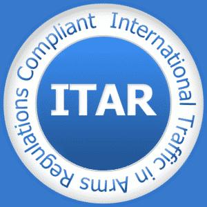 ITAR Registration Compliant Seal