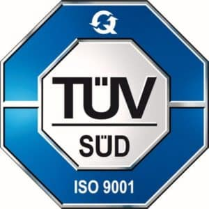 TUV Certification seal, quality