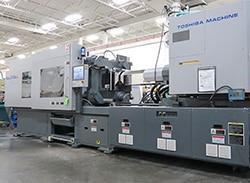 Toshiba 310-ton electric plastic injection molding press