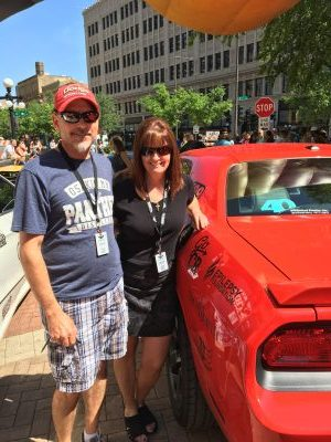 Janel, Greg Rosine, Crown Rally 2017