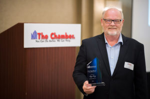 Roger Vang Steve Lampi Service to the Chamber Award