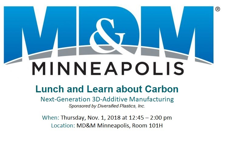 MD&M Minneapolis Lunch and Learn about Caron