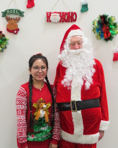 Holiday Turkey, Employees, Santa