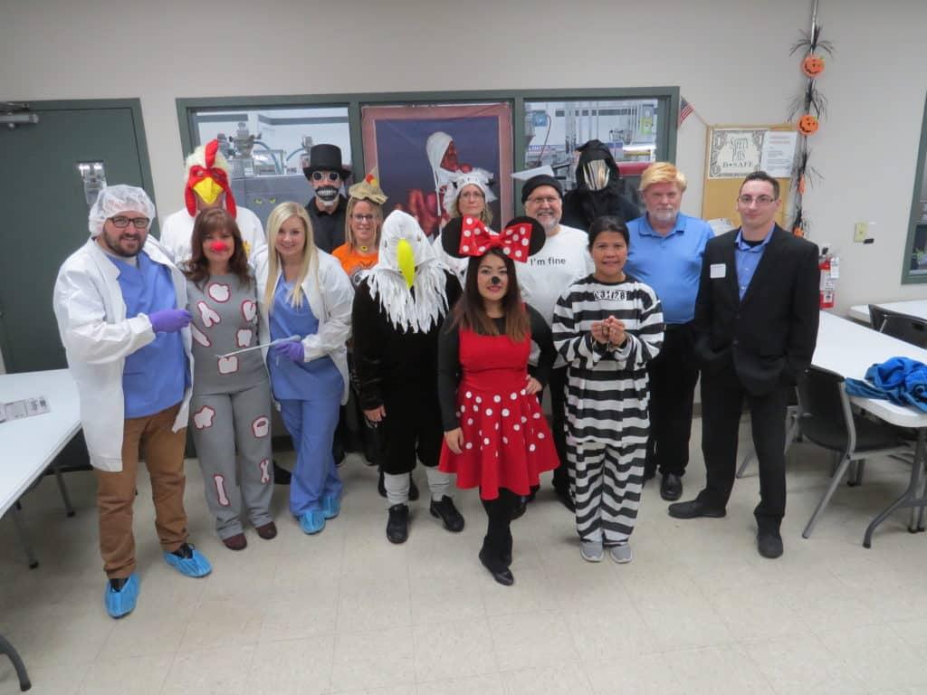 Halloween Group Costume Photo