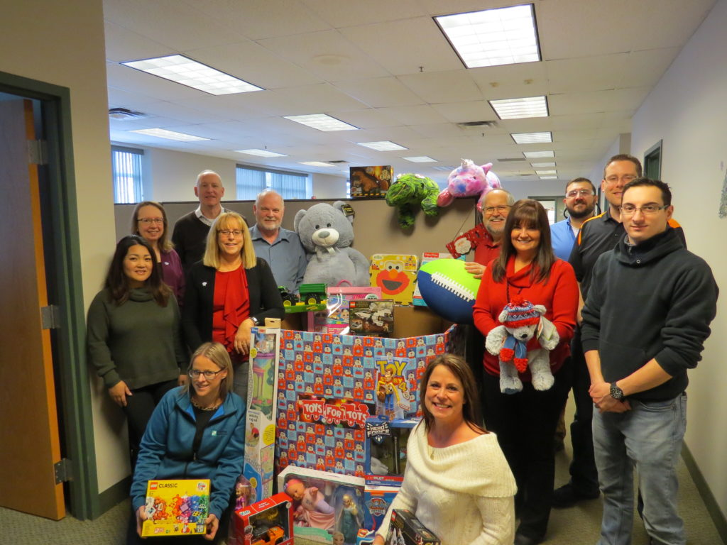 DPI's Toys for Tots donations