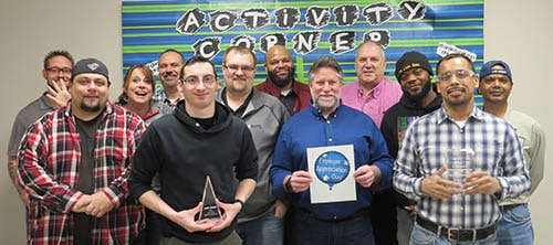 DPI Employee Excellence Award 1st Shift