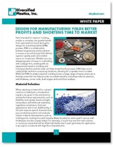 Design for Manufacturing White Paper
