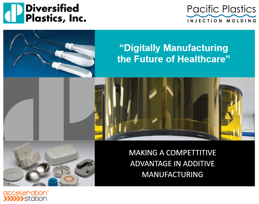 Presentation Digitally Manufacturing the Future of Healthcare